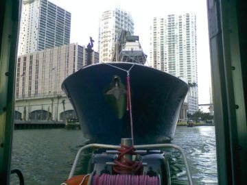 yacht towing miami